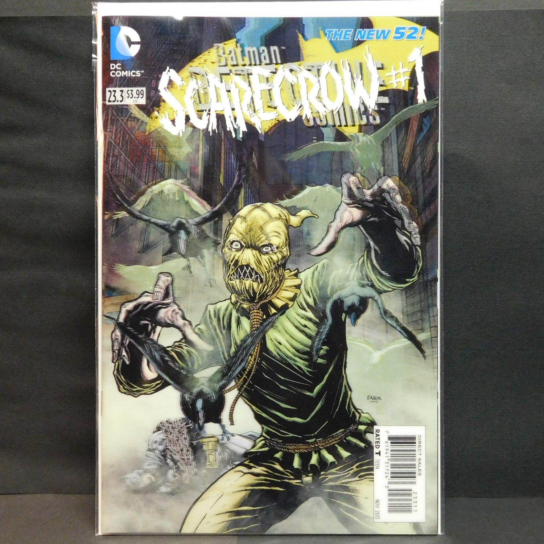 ... COMICS #23.3 Villain DC Comic Book 2013 New 52 - Batman Scarecrow