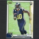 TODD GURLEY 2015 Topps Take it to the House PROMO Rookie RC - Georgia Bulldogs & St. Louis Rams
