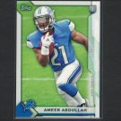 AMEER ABDULLAH 2015 Topps Take it to the House PROMO Rookie RC - Cornhuskers & Detroit Lions