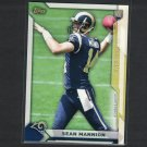 SEAN MANNION 2015 Topps Take it to the House PROMO Rookie RC - Beavers & St. Louis Rams