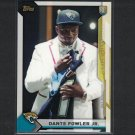 DANTE FOWLER JR. 2015 Topps Take it to the House PROMO Rookie RC - Florida Gators & Jaguars