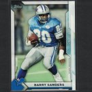 BARRY SANDERS 2015 Topps Take it to the House PROMO - Oklahoma State Cowboys & Detroit Lions