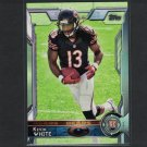 KEVIN WHITE 2015 Topps Rookie RC - Mountaineers & Chicago Bears