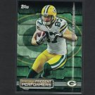 JORDY NELSON & PAUL HORNUNG 2015 Topps Past & Present Performers - Green Bay Packers
