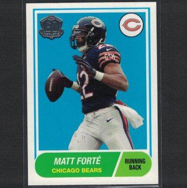 MATT FORTE 2015 Topps 60th Anniversary Retro Tulane & Chicago Bears