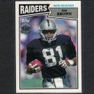 TIM BROWN 2015 Topps 60th Anniversary Retro Notre Dame & Oakland Raiders