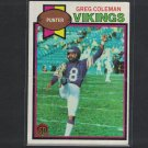 2013 GREG COLEMAN 2015 Topps 60th Anniversary BUYBACK Red Stamp - Vikings