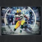 EDDIE LACY 2015 Topps Fantasy Focus Packers & Alabama Crimson Tide