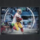 CARLOS HYDE 2015 Topps Fantasy Focus 49ers & Ohio State Buckeyes