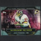 JOHN RIGGINS 2015 Topps All-Time Fantasy Legends Kansas Jayhawks & Redskins
