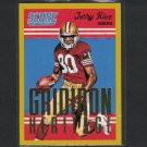 JERRY RICE 2015 Score GOLD Gridiron Heritage Mississippi Valley & 49ers