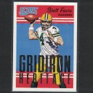 BRETT FAVRE 2015 Score Gridiron Heritage - Southern Mississippi & Packers