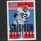 OZZIE NEWSOME 2015 Score Gridiron Heritage - Alabama Crimson Tide & Cleveland Browns