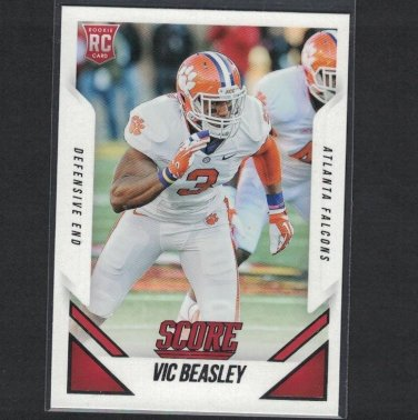 VIC BEASLEY 2015 Score Rookie RC - Clemson Tigers & Atlanta Falcons
