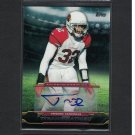 2013 TYRANN MATHIEU Honey Badger! Topps Autograph RC - Cardinals & LSU Tigers