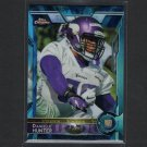 DANIELLE HUNTER 2015 Topps Chrome Blue Wave Refractor Rookie RC - LSU Tigers & Vikings