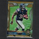 JEREMY LANGFORD 2015 Topps Chrome GOLD Refractor #30/50 Rookie RC - Spartans & Chicago Bears