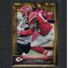 JUSTIN HOUSTON 2015 Topps Gold Border RC #/2015 - Chiefs & Georgia Bulldogs