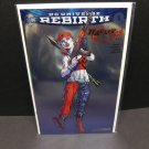 HARLEY QUINN Rebirth #1 NYCC Comic Con Foil VARIANT - DC Comic Book
