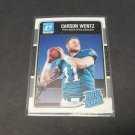 CARSON WENTZ 2016 Donruss Optic Rated Rookie RC - Philadephia Eagles & ND State
