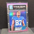 STERLING SHEPARD 2016 Donruss Optic PINK Refractor Rated Rookie RC - NY Giants & Oklahoma Sooners