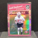 WILL REDMOND 2016 Donruss Optic PINK Refractor Rookie RC - 49ers & Mississippi State