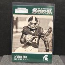 Le'VEON BELL 2016 Panini Contenders Old School Colors - Michigan State & Steelers