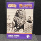DeANDRE HOPKINS 2016 Panini Contenders Old School Colors - Clemson Tigers & Texans