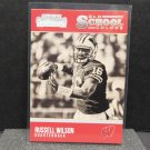 RUSSELL WILSON 2016 Panini Contenders Old School Colors - Wisconsin Badgers & Seahawks