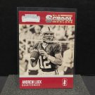 ANDREW LUCK 2016 Panini Contenders Old School Colors - Stanford Cardinal & Colt