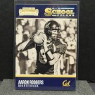 AARON RODGERS 2016 Panini Contenders Old School Colors - Cal Golden Bears & Packers