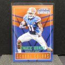 DeMARCUS ROBINSON 2016 Panini Contenders School Colors Rookie RC - KC Chiefs & Florida Gators