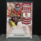 TRE MADDEN 2016 Panini Contenders Rush Week Rookie RC - Seahawks & USC Trojans