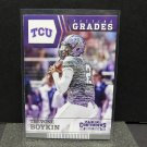 TREVONE BOYKIN 2016 Panini Contenders Passing Grades Rookie RC - Seahawks & TCU Horned Frogs