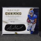 STERLING SHEPARD 2016 Immaculate Eye Black Autograph RC #/99 - NY Giants & Oklahoma Sooners