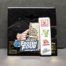 2009 NCAA Hockey FROZEN FOUR Site Pin - BU Terriers,Catamounts,Red Hawks,Bemidji