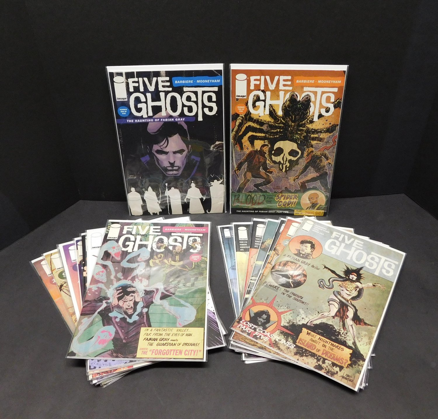 FIVE GHOSTS 2015 Complete Image Comic Book Set/Lot/Run #1 2 3 4 5 6 7 8 9 10 11 12 13 14-17