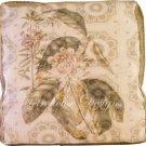Lotus Accent Box Pillow