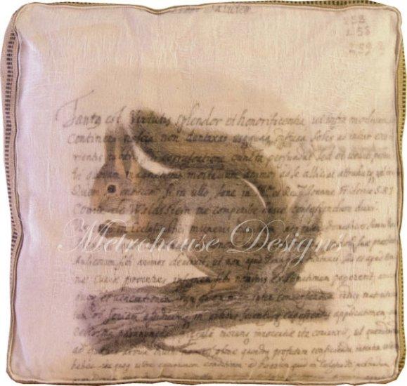 Squirrel Accent Box Pillow