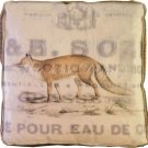 Fox Accent Box Pillow