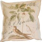 Brown Bird Box Pillow