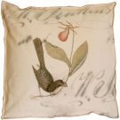 Black Bird Pie Box Pillow
