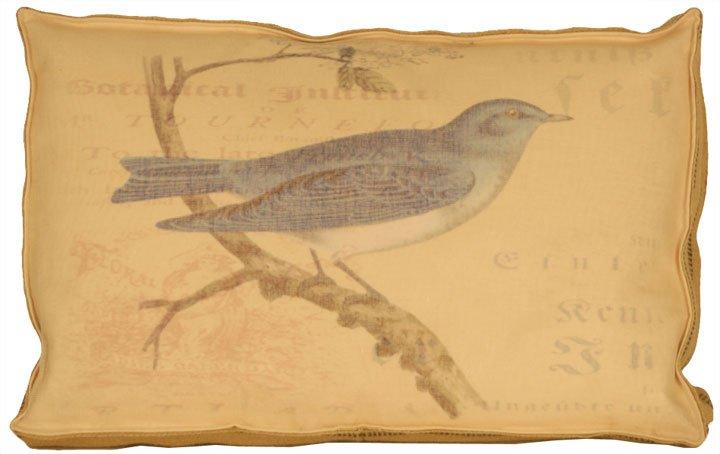 Blue Jay Box Pillow