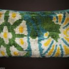 NAUTILUS SILK VELVET IKAT PILLOW
