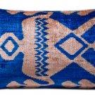 """Hand soft """"Ottoman"""" Silk Velvet pillow"""