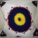 Vintage Suzani Bolinpush Pillow