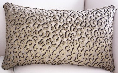 Pindler Pounce Velvet Lumbar Pillow