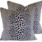 Schumacher Cheetah Accent Pillow