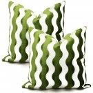 Pair of Schumacher Velvet Pillows ~ Set Of 2