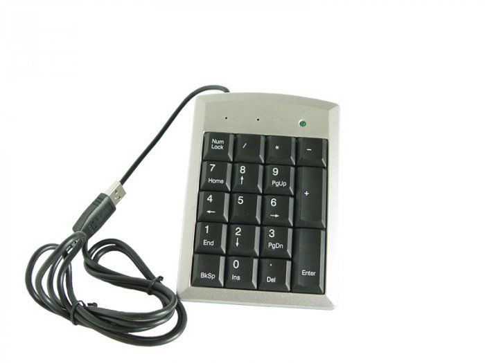 SUPER SLIM USB NUMERIC KEYPAD FOR LAPTOP PC/NOTEBOOK